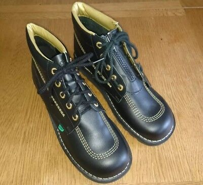 Mens Kickers, Ltd Edition Black And Gold, Size 10.5 UK 45 EURO