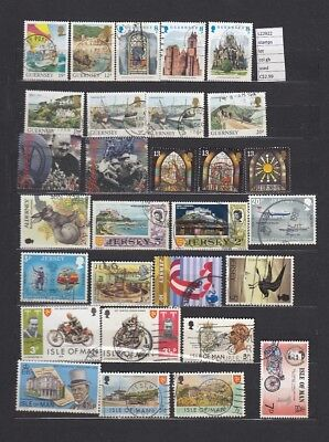 Stamps Lot British Colonies & Territories Used (L22922)