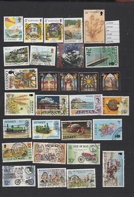 Stamps Lot British Colonies & Territories Used (L22919)
