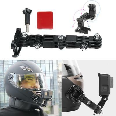 Adhesive Full Face Helmet Front Chin Mount For Gopro Hero 6 5 4 3 Action Camera