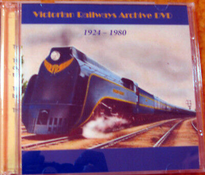 Victorian Railways History 1910 - 1980 Scanned Docs on 2 DVDs