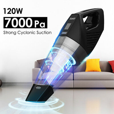 7000pa Cordless Handheld Car Vacuum Cleaner Rechargeable Home Hoover Vac Wet/Dry