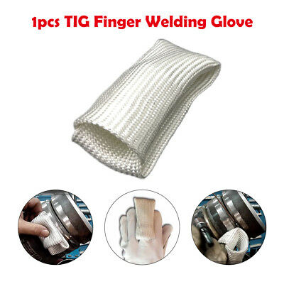 TIG Finger Welding Gloves Shield Guard Heat Protection Gear For Weld Monger AU