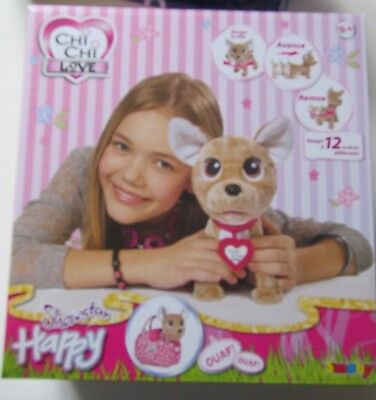 Chichi Love Happy Show Star  Peluche Interactive