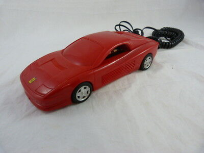 Red ferrari testarossa telephone (home phone)