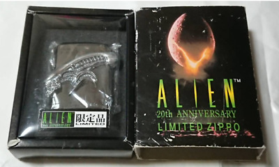 ZIPPO Limited Edition ALIEN 20th Anniversary Three Head Lighter 1999 XIV