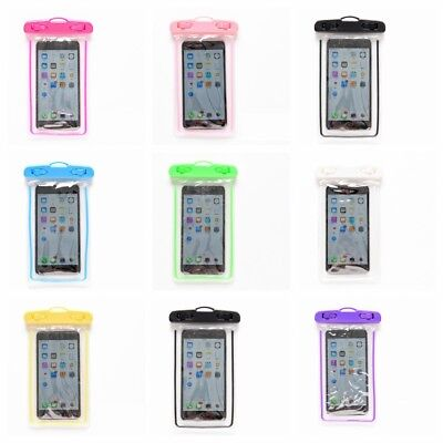 Swimming Bags Waterproof Bag with Luminous Underwater Pouch Phone Case universal