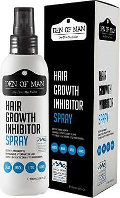 Den of Man™100% Natural Hair Growth Inhibitor Spray For Use After Hair Removal