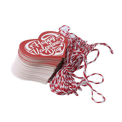 50 Pcs/Set Heart Square Stickers Wedding Festival Party Tag Labels Ornament ONE