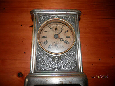 JUNGHANS Vintage/Antique carriage clock spares or repair
