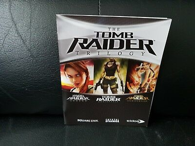 The Tomb Raider Trilogy, Sony Playstation 3 Game Manual, Trusted Ebay Shop