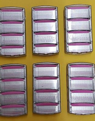 Schick Quattro for Women Razors 24 count Brand New Original Pink