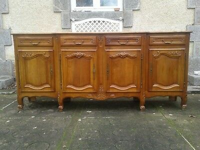 French antique vintage Louis Philippe style sideboard