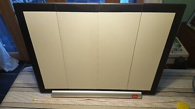 NOBO Projector Ultra Portable Screen approx 60x40 cm