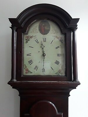 Antique Georgian Longcase Clock - Thomas Fowle, East Grinstead  c.1780s