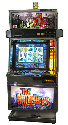 Igt Munsters Video Machine With Brand New Lcd Screen, Free Shipping