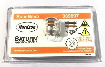 Original Nordson Surebead Nozzle .016 339697 for 1052931 Module New in package