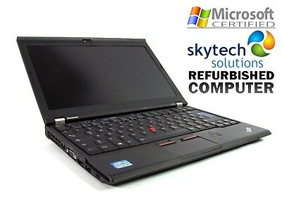 Lenovo Thinkpad X220 Core i5 2.50GHz 16GB MS Office 500GB SSD W10 Cheap Laptop
