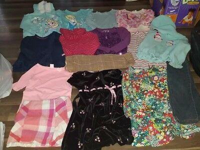 Girls Size 4t Winter Clothing Lot In Anderson Elsa And More Dresses Hoodie Jeans