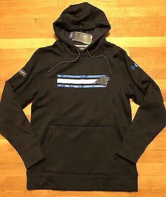 huge discount b6c53 b6774 UNDER ARMOUR CAROLINA Panthers Hoodie Mens Small Nwt 1288440-003 NFL Combine