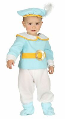 Toddlers Boys Baby Prince Royalty Fancy Dress Costume Infants Carnival Outfit