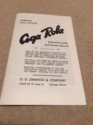 Jennings Ciga Rola Manual Repro