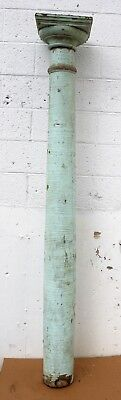 7' Antique Vintage SOLID Wood Load Bearing Structural Porch Column Pillar Post