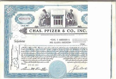 Chas. Pfizer & Co., Inc., 1950s, hellblau, common