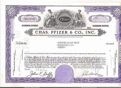 Chas. Pfizer & Co., Inc., 1960er, lila, button