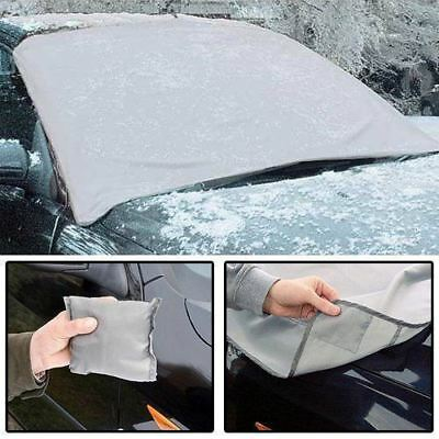Magnetic Car Windscreen Cover Ice Frost Snow Dust Protector Sun Shade Screen UK