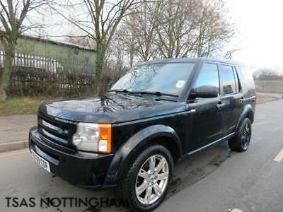 2009 Land Rover Discovery 3 GS 2.7 TD V6 Auto Stolen Recovered Salvage CAT N
