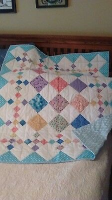Handmade baby boy quilts
