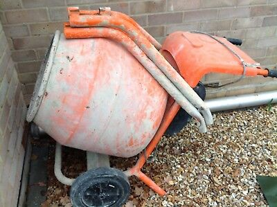 Belle mini 150  electric cement mixer (used ) With Stand 2006
