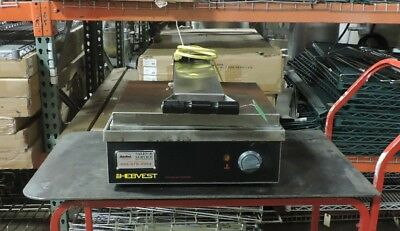Hebvest 2P12HD Commercial Sandwich Press 120 V / Single Phase