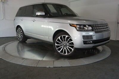 2016 Range Rover 5.0L V8 Supercharged Autobiography 2016 Land RoverRange Rover5.0L V8 Supercharged Autobiography