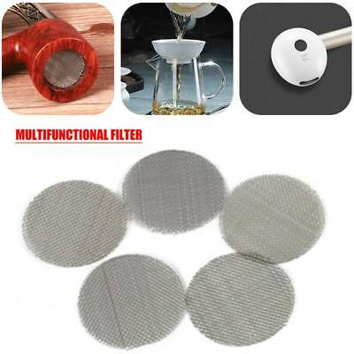 Multifunctional Water Pipe Metal Filter Stainless Steel Smoke Pipes Screen Gauze
