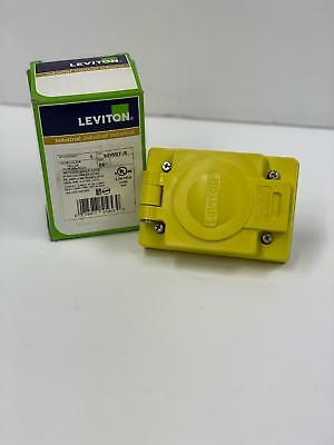 Leviton 95W07-S outlet with cover