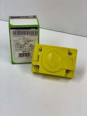 Leviton 90W49-S outlet with cover