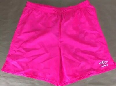 new with tags Umbro Soccer Shorts Pink Size XL (18-20)
