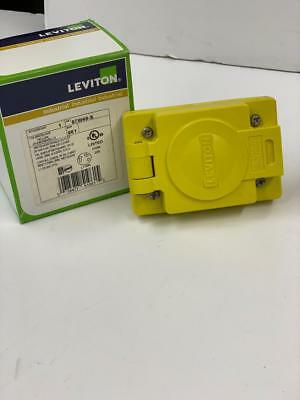 Leviton 97W49-S outlet with cover