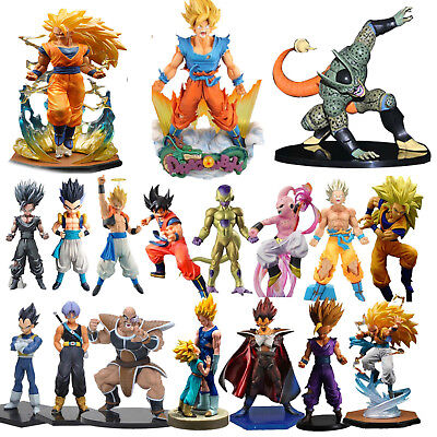 Dragon Ball Z Super Saiyan Son Goku PVC Action Figure Figurines Manga Fans Gifts