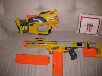 Nerf Lot - Recon CS-6 & Firefly REV 8  - with darts/extra cartridges