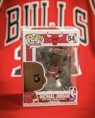 Michael Jordan Funko Pop #54 100% Guaranteed Pre Order Chicago Bulls NBA Buynow