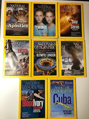 National Geographic Magazine Collection 2012