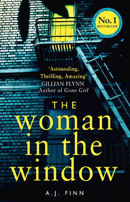 The Woman in the Window by A. J. Finn EPUB SAME DAY DELIVERY