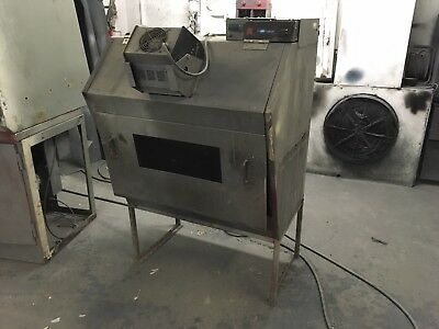 *RELISTED*Mobile Alloy Wheel Spray Booth And Oven UV BASED SYSTEM!
