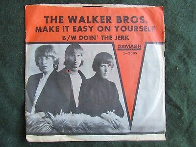 The Walker Brothers Make It Easy On Yourself picture sleeve Smash S-2009 45 rpm
