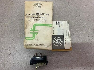 New In Bag Ge Auxiliary Contact Cr105X200P