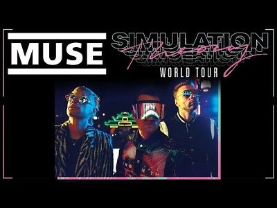 5 Biglietti MUSE Simulation Theory tour ticket Milano San Siro 12/7/19 concerto