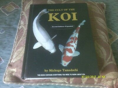 KOI CARP MANUAL - THE CULT OF THE KOI - TYPES, PONDS, FEED, EALTH, BREED etc